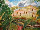 Landscape c1914 - Alfred H Maurer