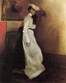 Jeanne in Interior c1901 - Alfred H Maurer