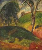 Fauvist Landscape - Alfred H Maurer