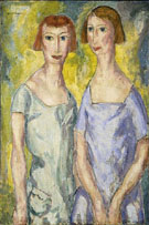 Two Sisters - Alfred H Maurer
