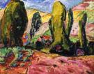 Landscape 1909 - Alfred H Maurer
