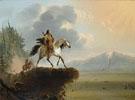 Snake Indians 1840 - Alfred Jacob Miller