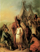 The Trappers Bride 1845 - Alfred Jacob Miller