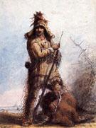 Louis Rocky Mountain - Alfred Jacob Miller