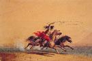 Lassoing Wild Horses - Alfred Jacob Miller