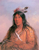 Bear Bull Chief of the Oglala Sioux 1837 - Alfred Jacob Miller
