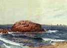 Rocks Near the Coast - Alfred T Bricher