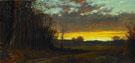 Twilight in the Wilderness - Alfred T Bricher
