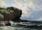 Rocky Head c1891 - Alfred T Bricher