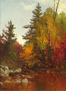 Woodland Interior New Hampshire - Alfred T Bricher