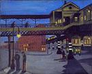 Ninth Avenue El 1935 - Alice Neel
