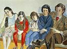 Westreich Family 1978 - Alice Neel