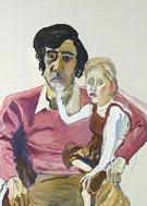 Don Perlis and Jonathan 1984 - Alice Neel
