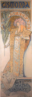 Gismonda 1894 - Alphonse Mucha