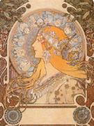 Zodiac 1896 - Alphonse Mucha