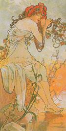 Summer 1896 - Alphonse Mucha