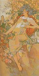 Autumn 1896 - Alphonse Mucha