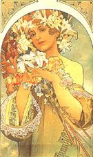 Flower 1897 - Alphonse Mucha