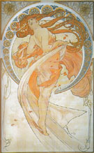 Dance 1898 - Alphonse Mucha