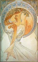 Poetry 1898 - Alphonse Mucha