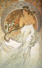 Music 1898 - Alphonse Mucha