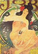 Job 1898 - Alphonse Mucha