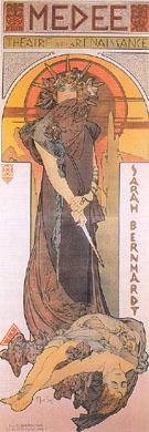 Medee 1898 - Alphonse Mucha