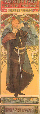 Hamlet 1899 - Alphonse Mucha