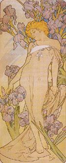 Iris 1898 - Alphonse Mucha
