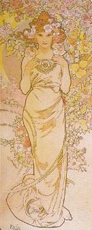 Rose 1898 - Alphonse Mucha