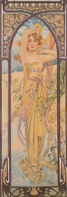 Daytime Dash 1899 - Alphonse Mucha