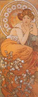 Topaz 1900 - Alphonse Mucha
