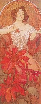 Ruby 1900 - Alphonse Mucha