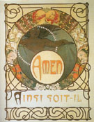 Amen 1899 - Alphonse Mucha