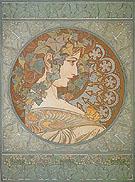 Ivy 1901 - Alphonse Mucha