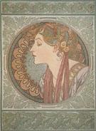Laurel 1901 - Alphonse Mucha