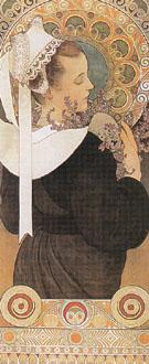 Heather 1902 - Alphonse Mucha