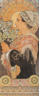 Sea Holly 1902 - Alphonse Mucha