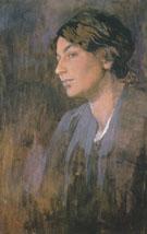 Maruskas Portrait 1903 - Alphonse Mucha