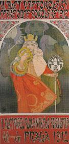 6th Sokol Festival 1912 - Alphonse Mucha
