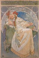 Princess Hyacinthe 1911 - Alphonse Mucha