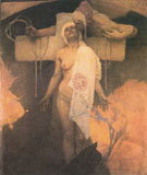 France Kissing Bohemia c1918 - Alphonse Mucha
