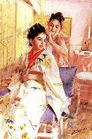 Froknarna Salomon The Misses Salomon 1888 - Anders Zorn