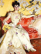 Portrait of Elizabeth Sherman Cameron - Anders Zorn