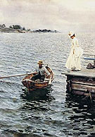 Summer Fun 1886 - Anders Zorn