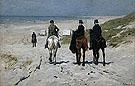 Morning Ride on the Beach 1876 - Anton Mauve