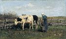 Milking Time 1875 - Anton Mauve