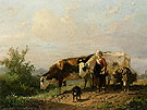 The Cowherdess - Anton Mauve