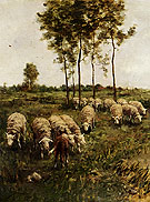 A Girl Watching The Flock - Anton Mauve