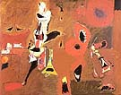 Agony 1947 - Arshile Gorky